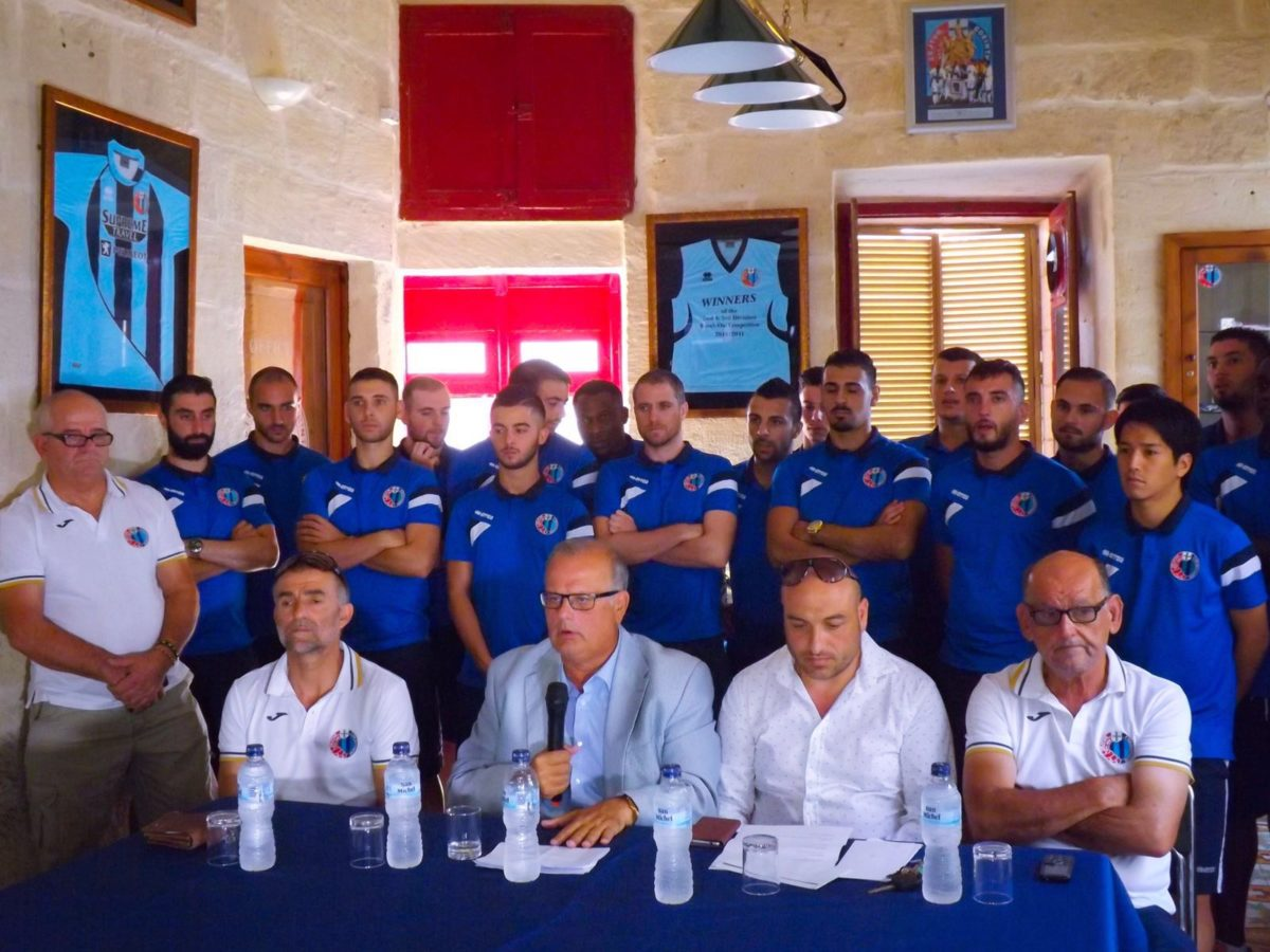 Zejtun Corinthians present their Squad & Sponsors for the season 2016/17